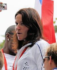 anne-caroline chausson a été la première championne olympique de bmx, nouvelle