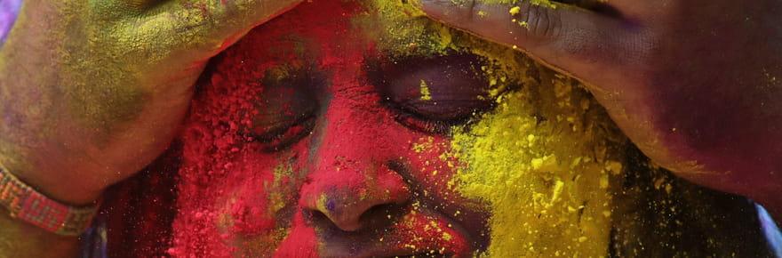 Les plus belles photos de Holi 2020, le festival aux 1000couleurs