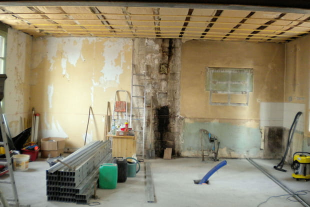 Isolation du plafond for Isolation plafond maison