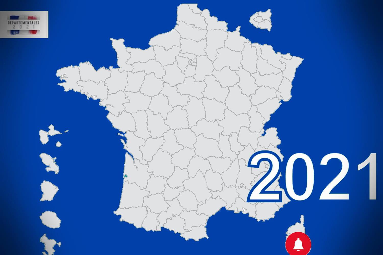 Résultat des départementales 2021: les chiffres par canton, par ville, par département