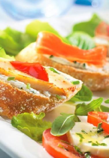 Pizza Del Arte  - Assiette fraicheur -