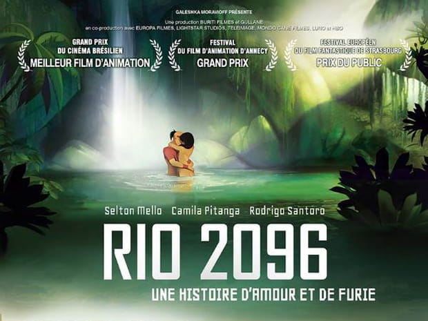 Rio 2096: une histoire d'amour et de furie