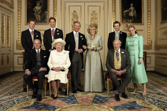 9 avril 2005, Charles et Camilla