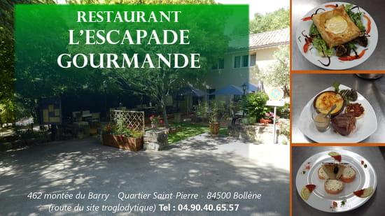 Restaurant : L'Escapade Gourmande  - La terrasse -   © Facook64