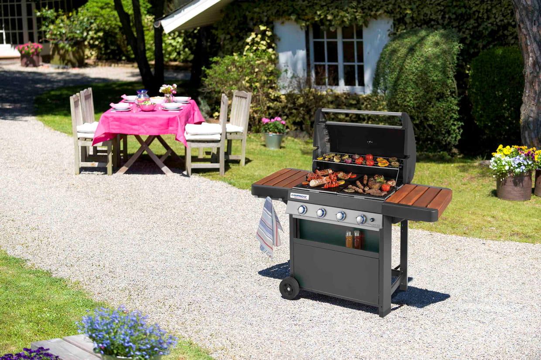 Barbecue au gaz CAMPINGAZ 4 Series Classic WLD Plus +