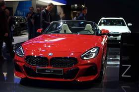 BMW Z4: le nouveau roadster en images au Mondial de l'Auto [infos]