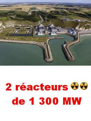 le site de penly a grignoté 70 hectares sur la mer.