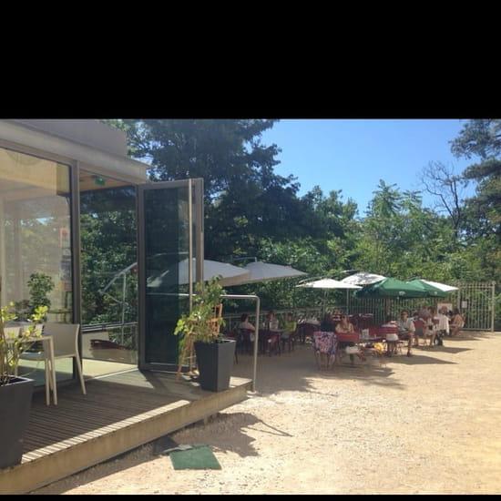 Restaurant : La Terrasse de Riquet  - Terrasse extérieure  -
