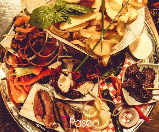 Plat : Le Paseo - Cocktail club & restaurant (Ex : LE SUD)  - Restaurant tapas -   © Le Paseo - Cocktail club & restaurant