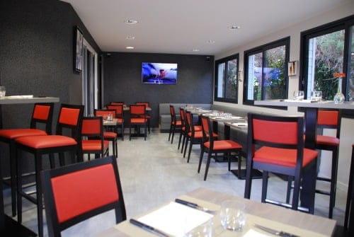 Restaurant l'Aparté  - espace réunion -