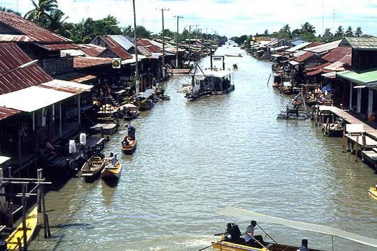 Les rives du Mékong