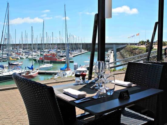 Restaurant : Le Herel - Hôtel Ibis  - Vue sur le port de Granville. -   © Hérel