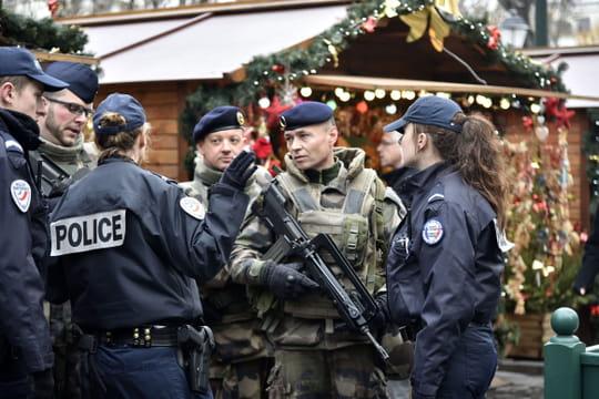Marché de Noël: sécurité renforcée suite à la fusillade de Strasbourg