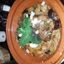 Plat : Le Peperoni  - Tajine d agneau aux figues et aux abricots accompagné de goulgour -