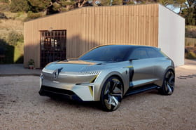 Les photos du concept car Renault Morphoz