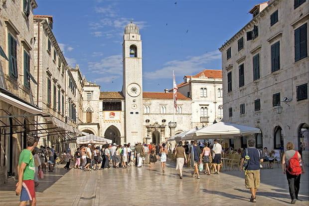 La tour de l'Horloge de Dubrovnik
