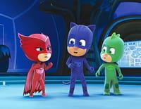 Les Pyjamasques : Gluglu et le ninja-lézard / Bibou et sa nouvelle meilleure amie