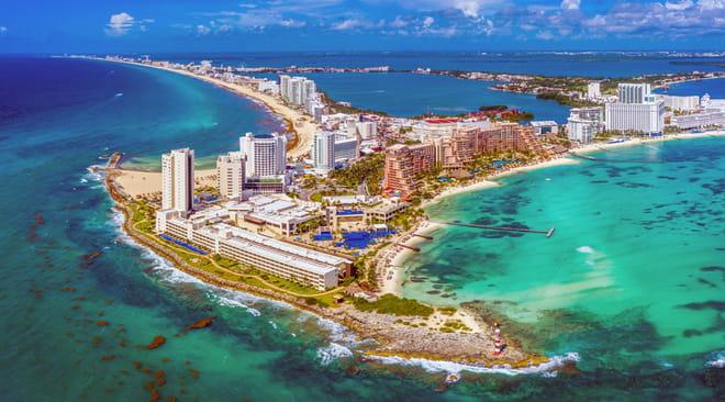 Cancun: lieux incontournables à visiter, quartiers, restaurants, aéroport, plages, le guide