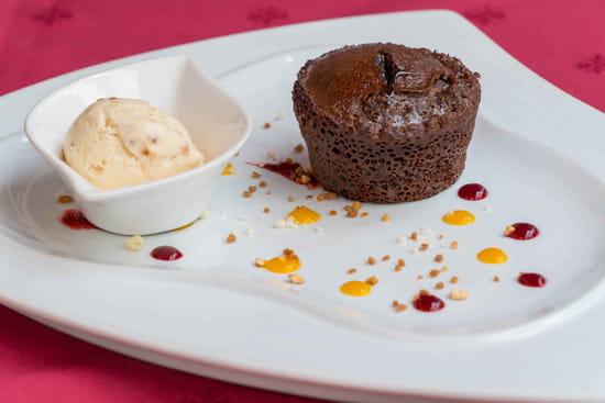 Dessert : La Forge  - Plat de la carte -   © la Forge