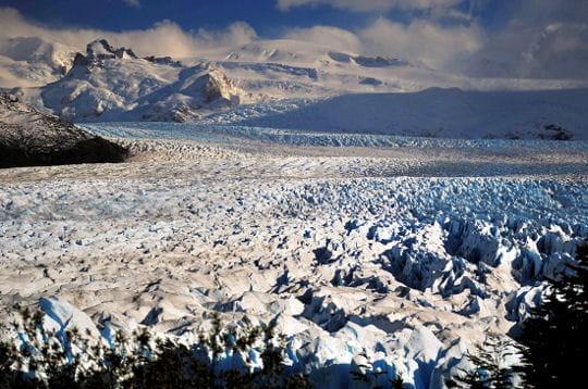 Un grand nombre de glaciers