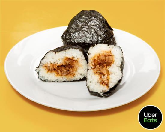 Plat : Gili Gili  - Onigiri miso porc -   © Uber Eats