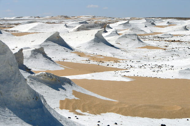 Le désert blanc, Egypte