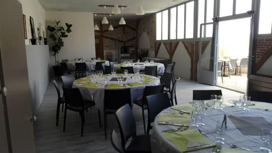 Restaurant : Au Fil du Vent  - Salle de réception  -