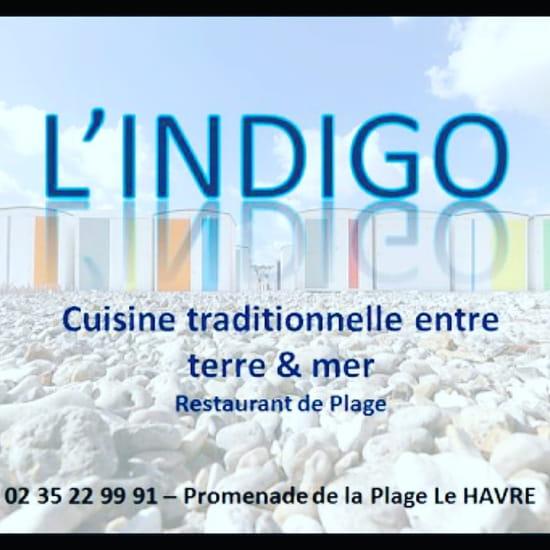 Restaurant : L'Indigo  - Carte -   © LF