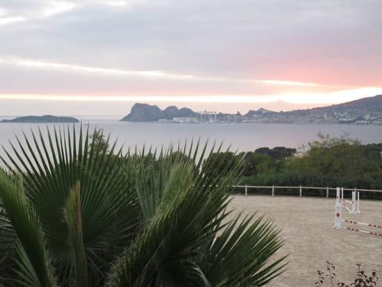 La Ferme Auberge de la Baie des anges  - coucher du soleil  -   © fermeauberge.fr