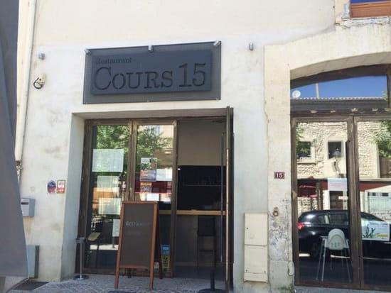 Entrée : Cours 15
