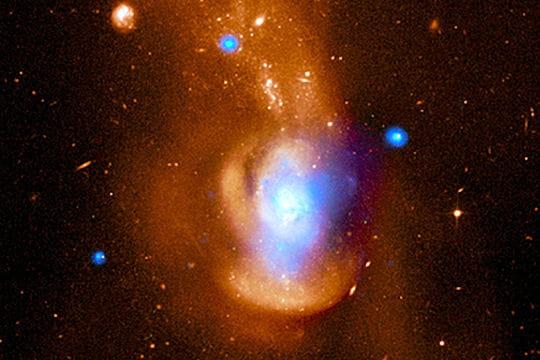 Galaxie Méduse