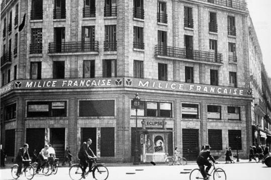 Siège de la milice française