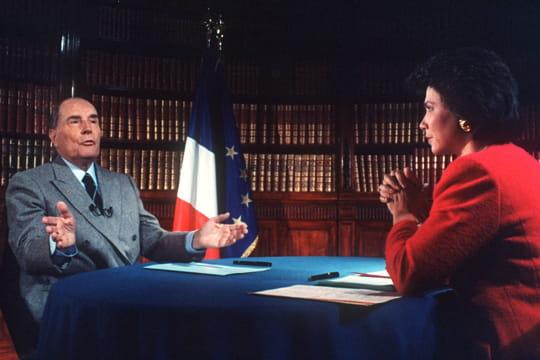Face à François Mitterrand