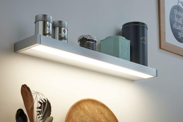 Une étagère lumineuse