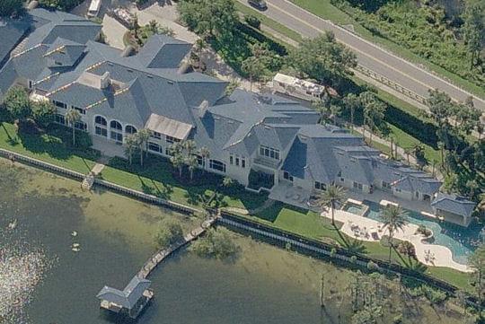 La maison de Shaquille O'Neal