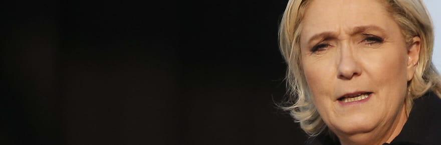 Résultat de Marine Le Pen: 34,1% des suffrages pour le FN (estimation)