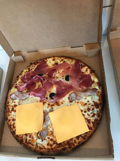 Plat : To Pizza'64  - Duo burger-savoyarde -   © To Pizza'64 2017