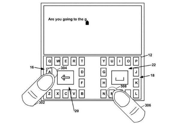 Un nouveau type de clavier dédié aux smartphones