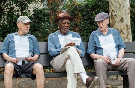 Morgan Freeman Braquage à l'ancienne