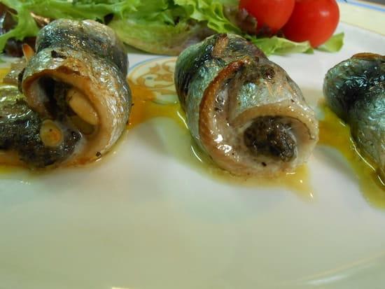 Sépia  - sépia, roulé de sardine à la tapenade -   © pana