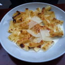 Plat : Mini Festin  - Gratin de rigatoni aux 4 fromages -