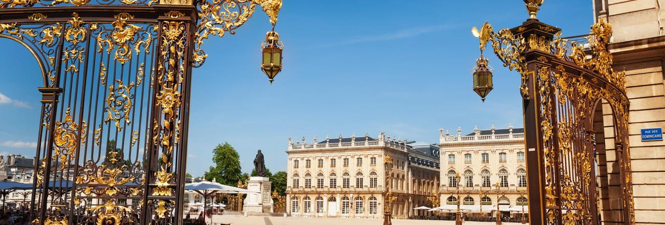 """La place Stanislas de Nancy, """"Monument préféré des Français"""" en 2021"""