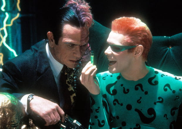 "Tommy Lee Jones et Jim Carrey dans ""Batman Forever"""