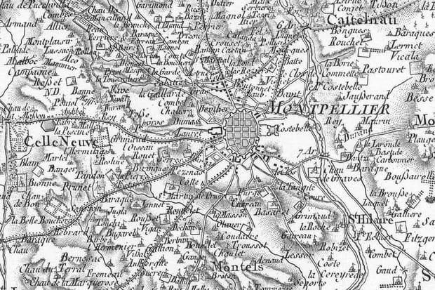 Montpellier au XVIIIe siècle