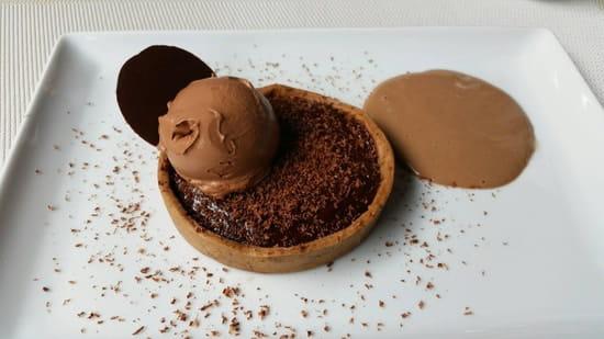 Dessert : Restaurant la Cuisine  - Tarte aux chocolats -