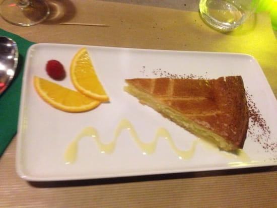 Dessert : Euskadi  - Gâteau basque -
