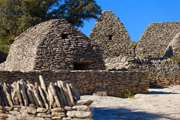 Le village des bories à Gordes dans le Vaucluse