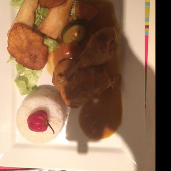 Plat : La Puerta del Sol  - Colombo de poulet -