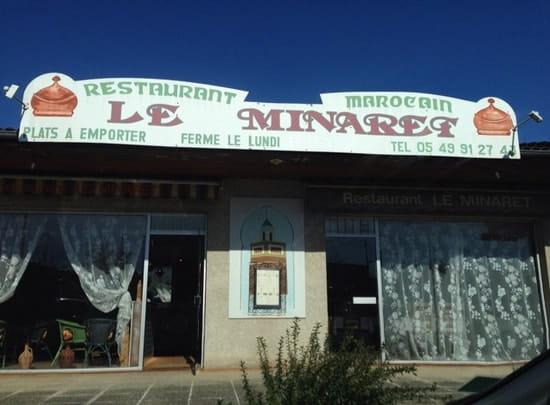 Restaurant : Le Minaret  - Extérieur  -