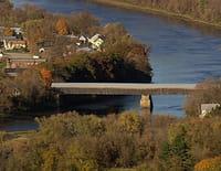 Vues d'en haut : Un automne en Nouvelle-Angleterre